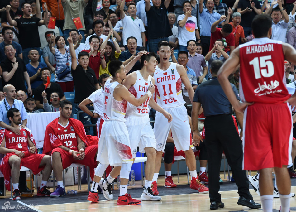 China wins 70-57 against Iran in Asia Basketball