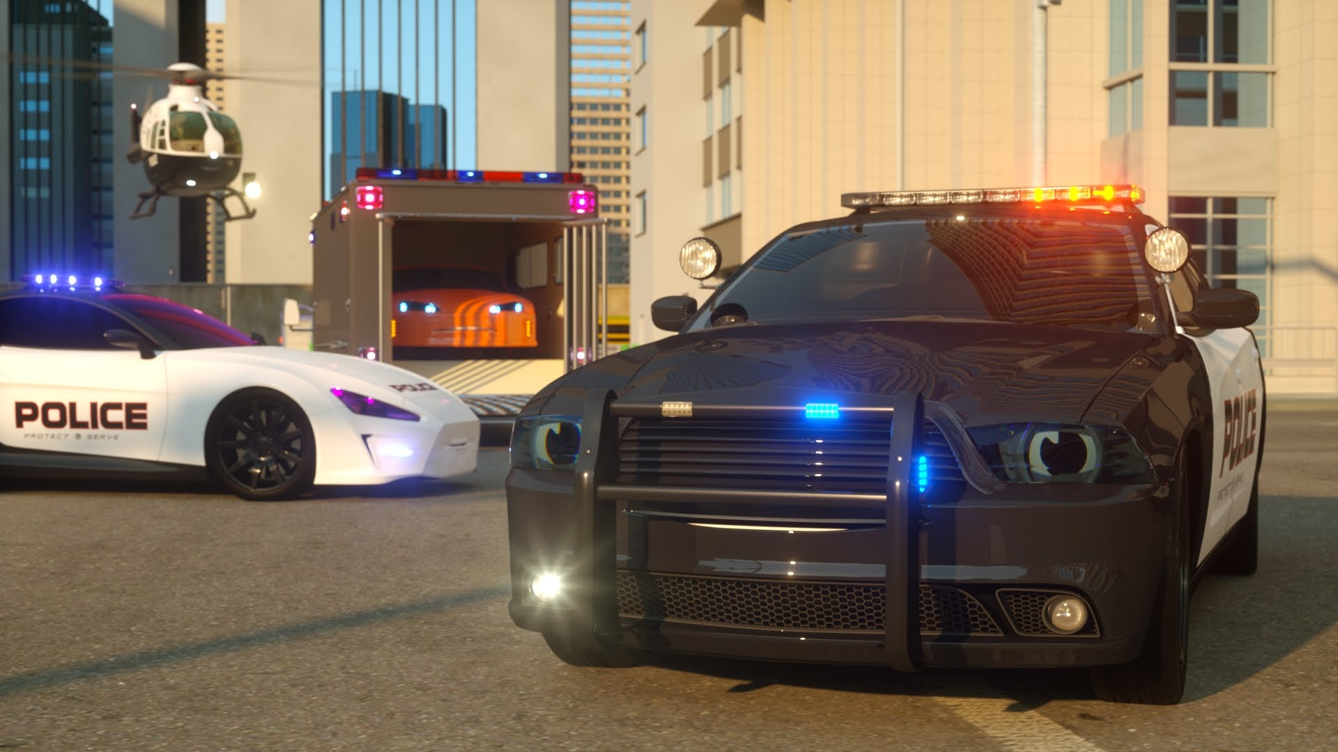 Sergeant Cooper the Police Car – Real City Heroes