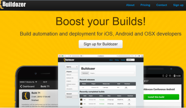 Buildozer: Buildozer is a build automation and deployment tool for mobile developers
