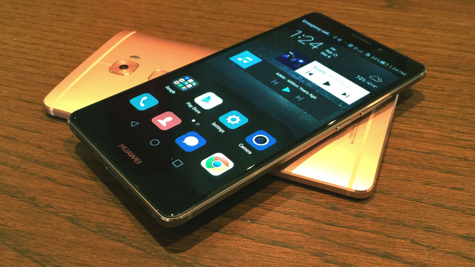 HUAWEI Mate S Champagne: Price €620