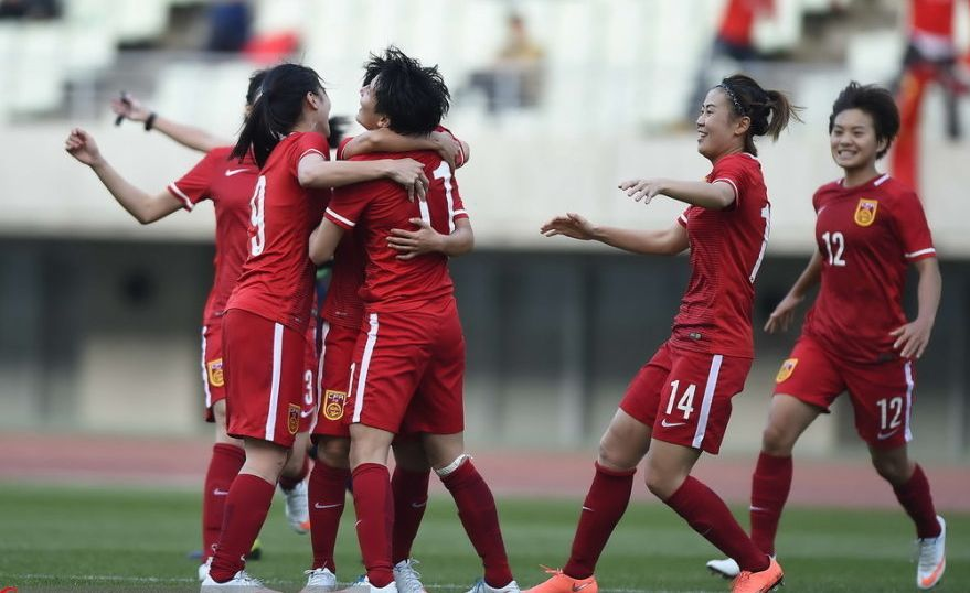 China qualify for women's football event Rio Olympic 2016
