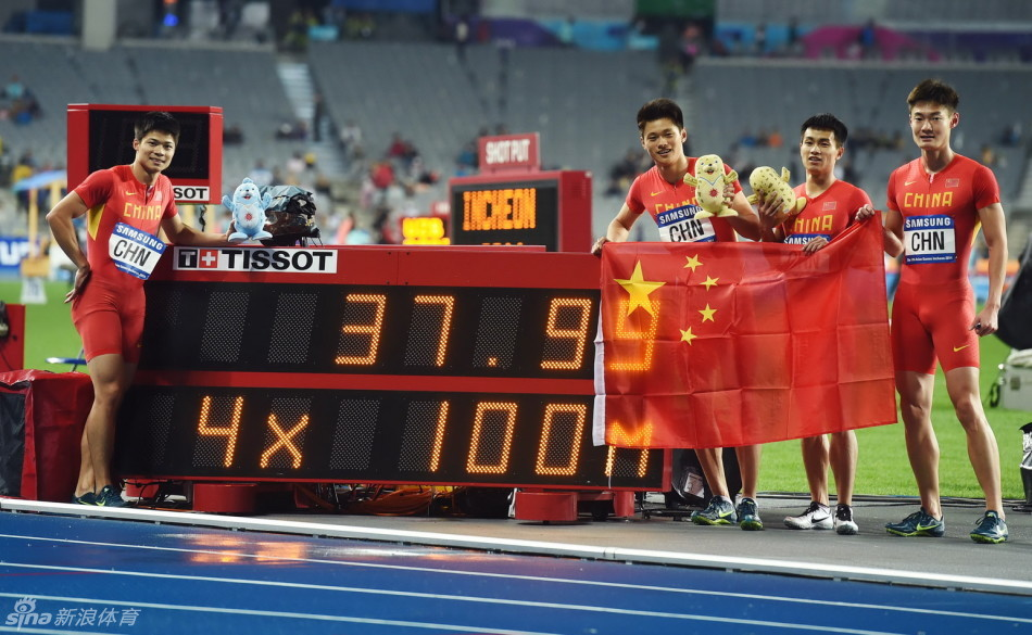 [athletics] 4×100 Meters Relay & Others