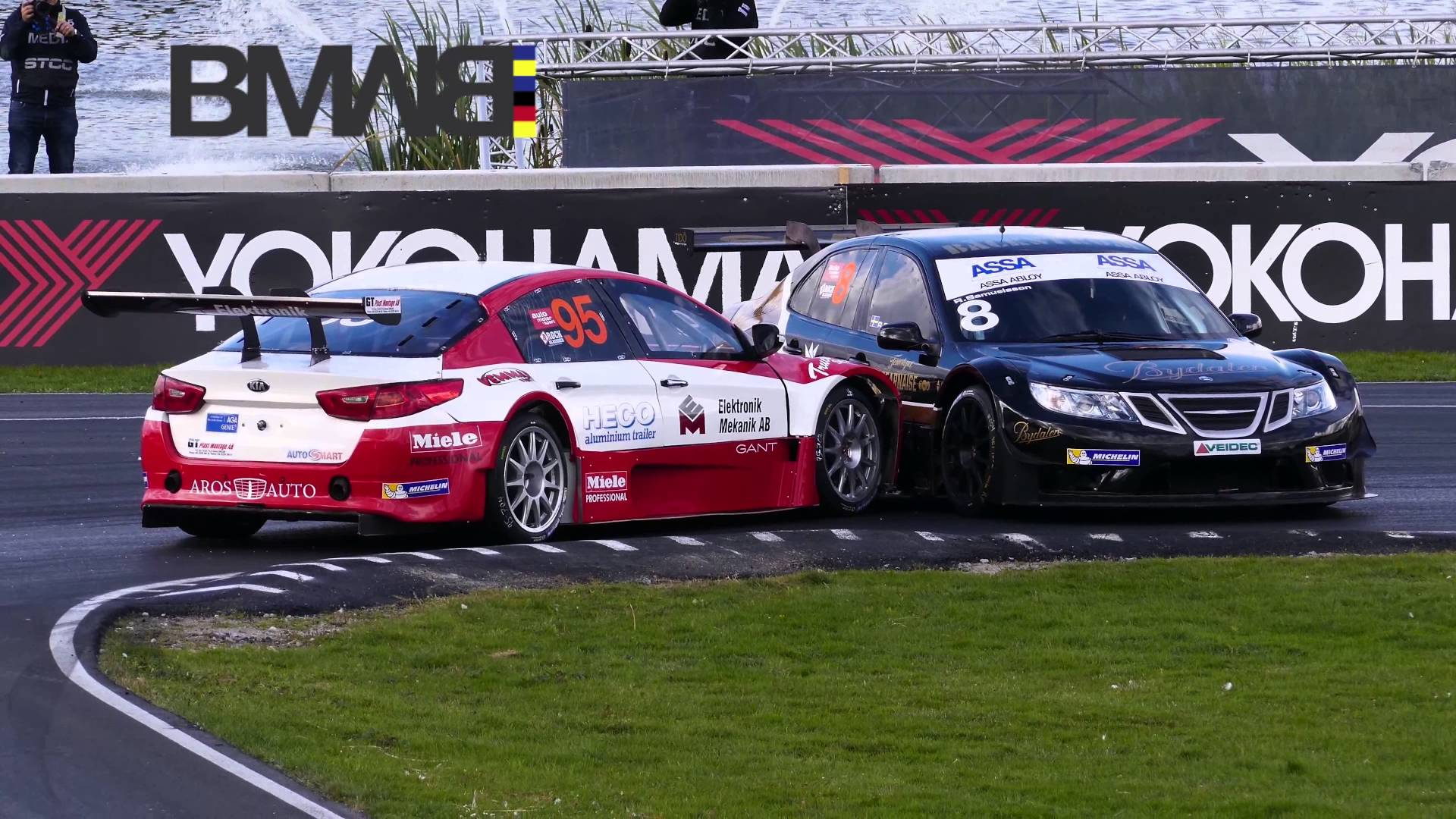 First SAAB 9-3 Victory in STCC