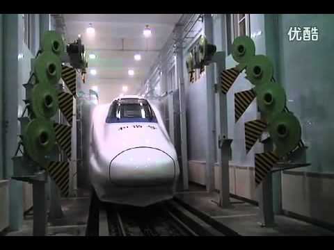 How to clean China High Speed Train