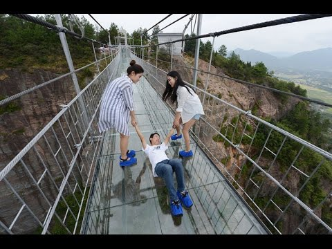 World's Longest Glass Bridge – China
