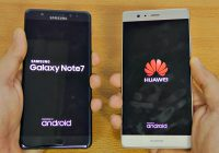 Samsung Galaxy Note 7 vs Huawei P9 Plus