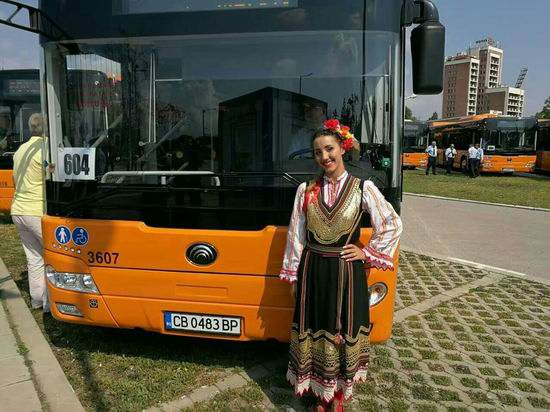 110 Chinese Yutong buses delivered to Bulgaria
